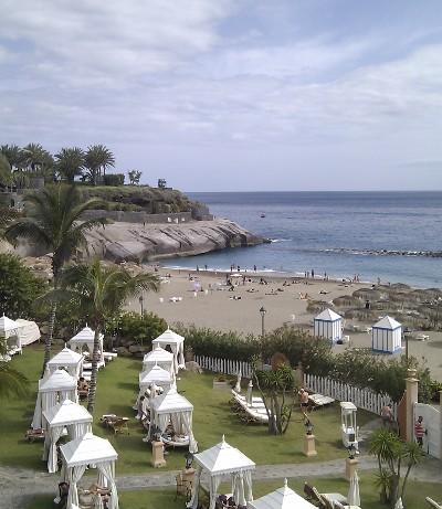 Strand vorm Gran Hotel Bahia del Duque Resort