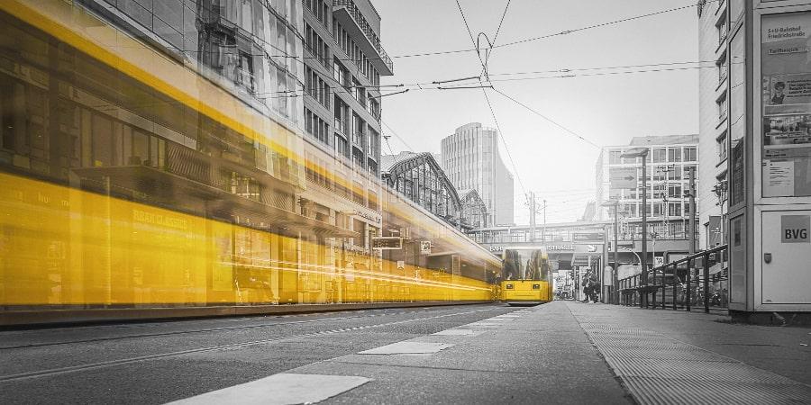 Tram in Berlin, Friedrichstraße