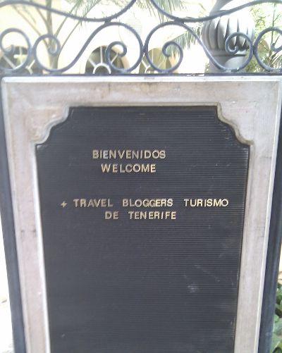 Travel Bloggers Begrüßung